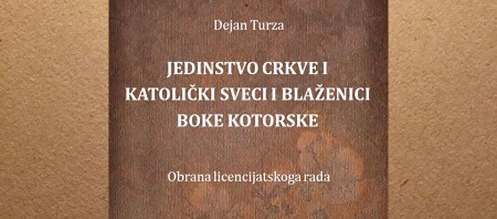 Don Dejan Turza obranio licencijatski rad iz ekumenske teologije