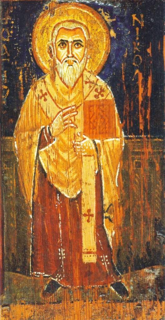 Sv Nikola biskup Samostan sv Katarine na Sionu VII-XVIII st