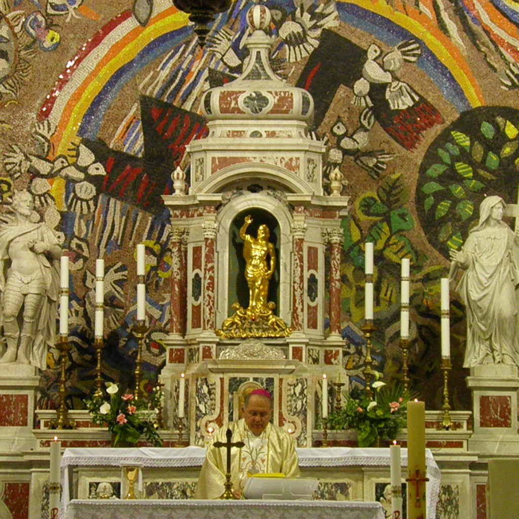 Misa za don Branka Sbutegu u crkvi sv. Eustahija