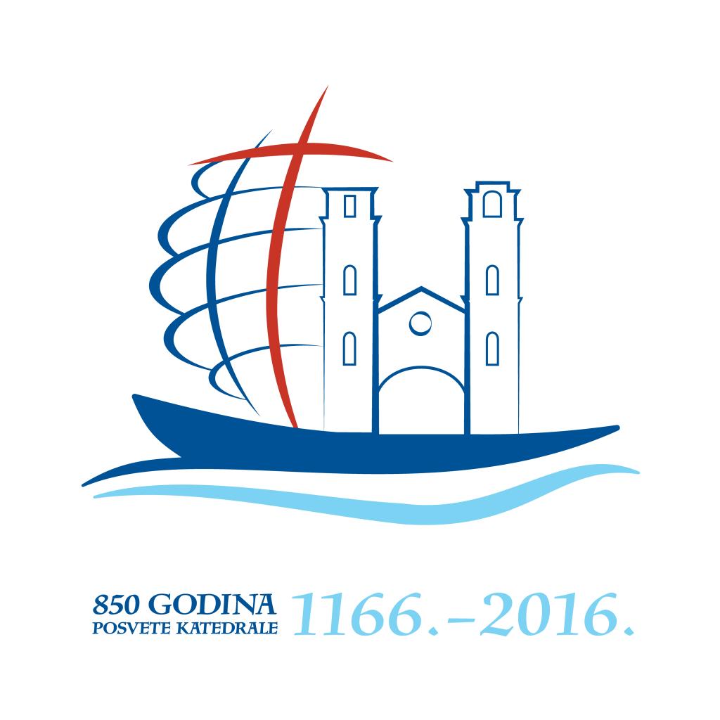 Logo proslave 850 godina posvete kotorske katedrale