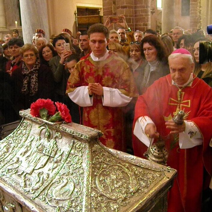 Mons. Pezzuto predslavio misno slavlje prigodom vanjske proslave sv. Tripuna