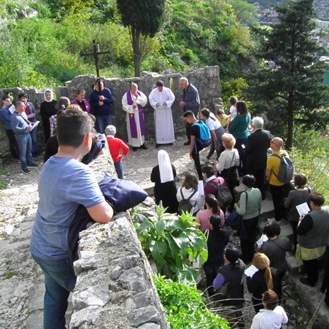 Križni put do crkve Gospe od Zdravlja