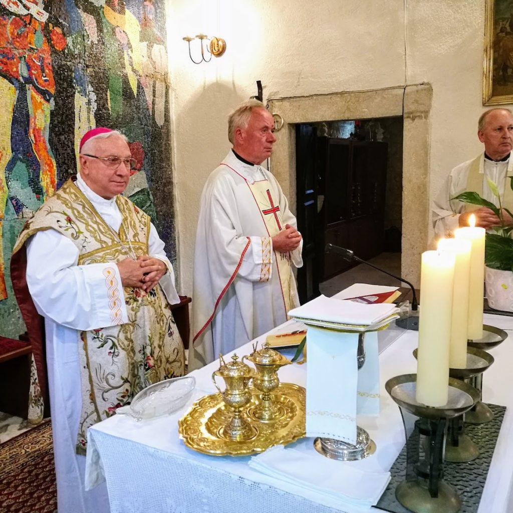 Apostolski nuncij Pezzuto na proslavi sv. Ivana Krstitelja u Budvi