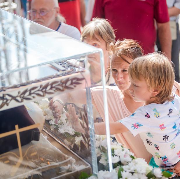 Sv. Leopold u Herceg Novom – fotogalerija prvog dana boravka (15. rujna 2017.)