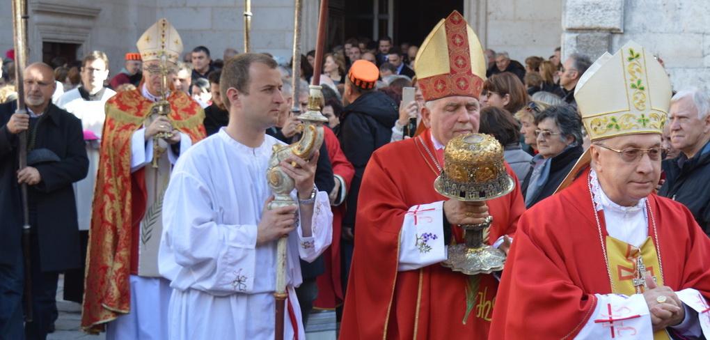 Vanjska proslava sv. Tripuna
