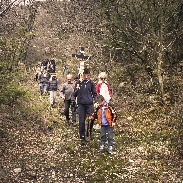 Planinarski križni put mladih Kotorske biskupije