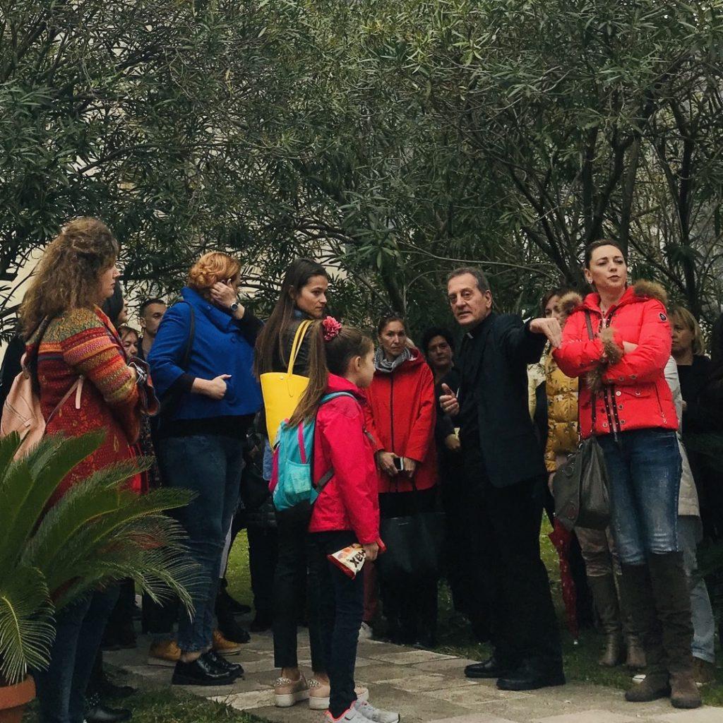 Članovi Udruženja turističkih vodiča u posjetu crkvi Sv. Eustahija