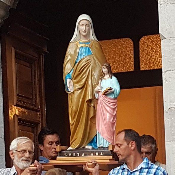 Proslavljen blagdan sv. Ane u Đurićima