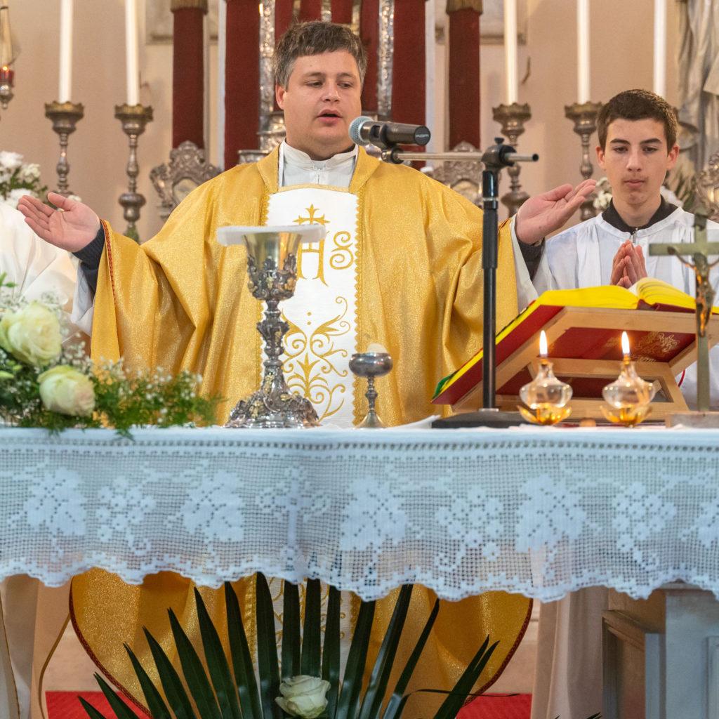 Mlada misa don Željka Paskovića