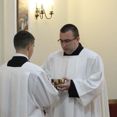 Bogoslov Damir Vrbešić primio službu akolita