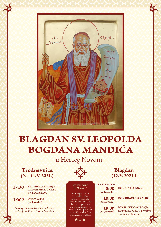 Sv. Leopold - A3 plakat 2021