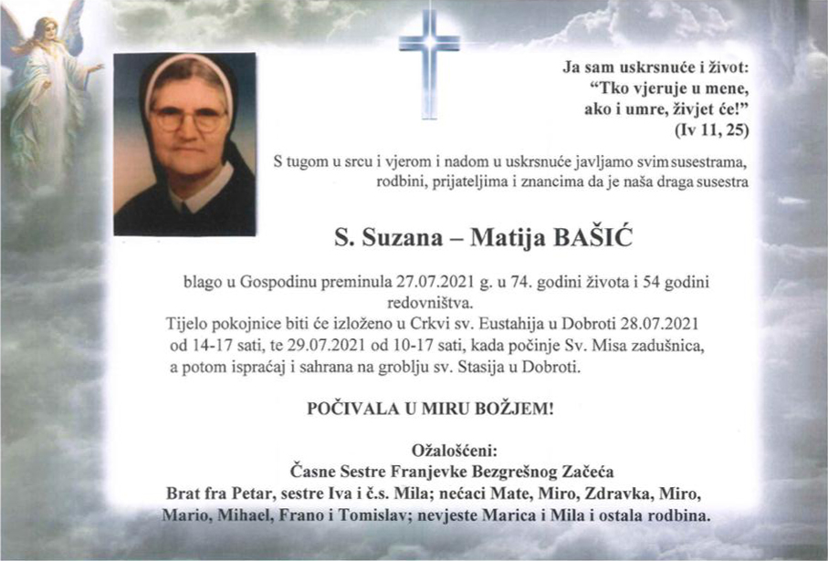 sestra Suzana Matija Bašić