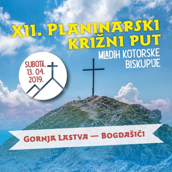 XII. Planinarski križni put mladih Kotorske biskupije