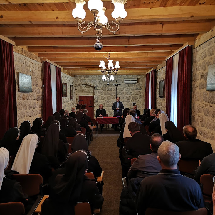 Adventska duhovna obnova za kler Kotorske i Barske nadbiskupije