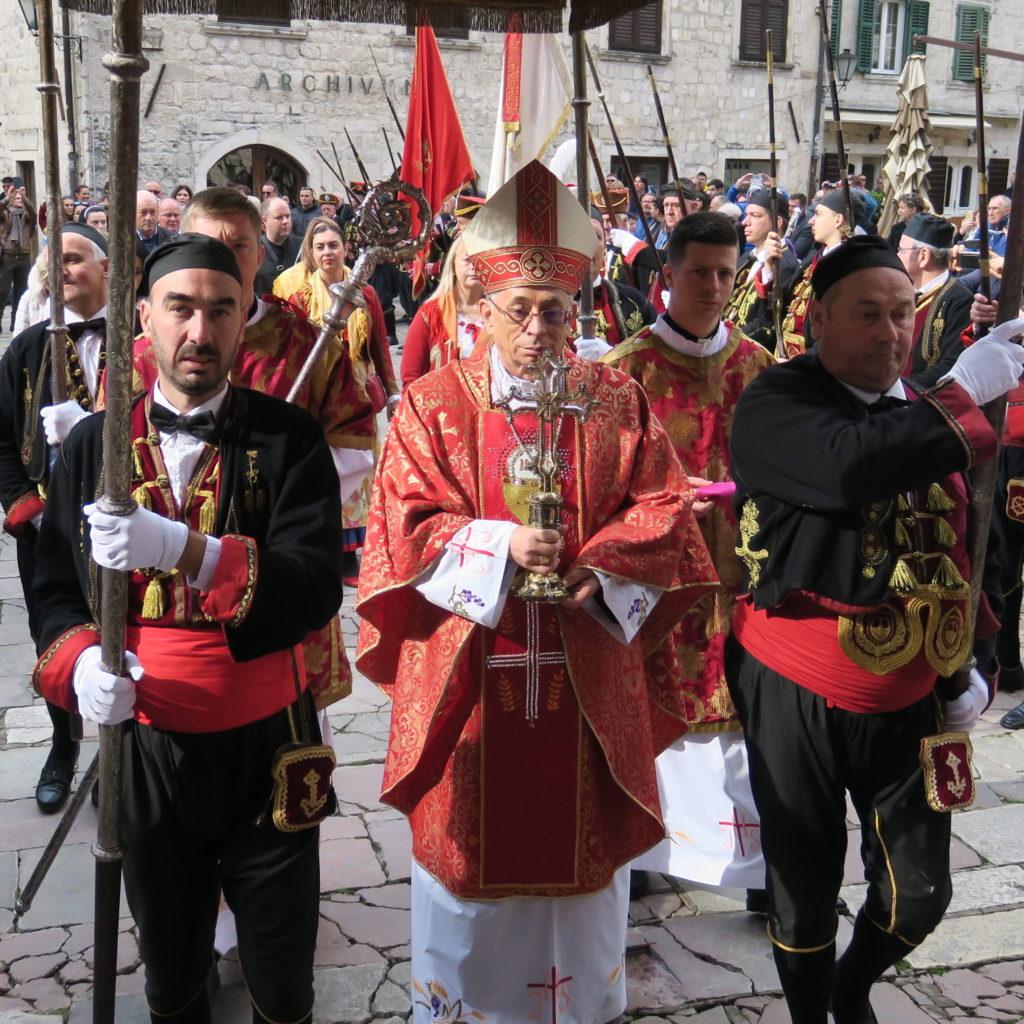 Kotor u znaku vanjske proslave svog svetog zaštitnika
