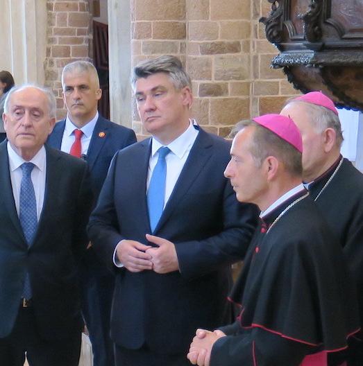 Predsjednici Hrvatske i Crne Gore posjetili Kotorsku katedralu