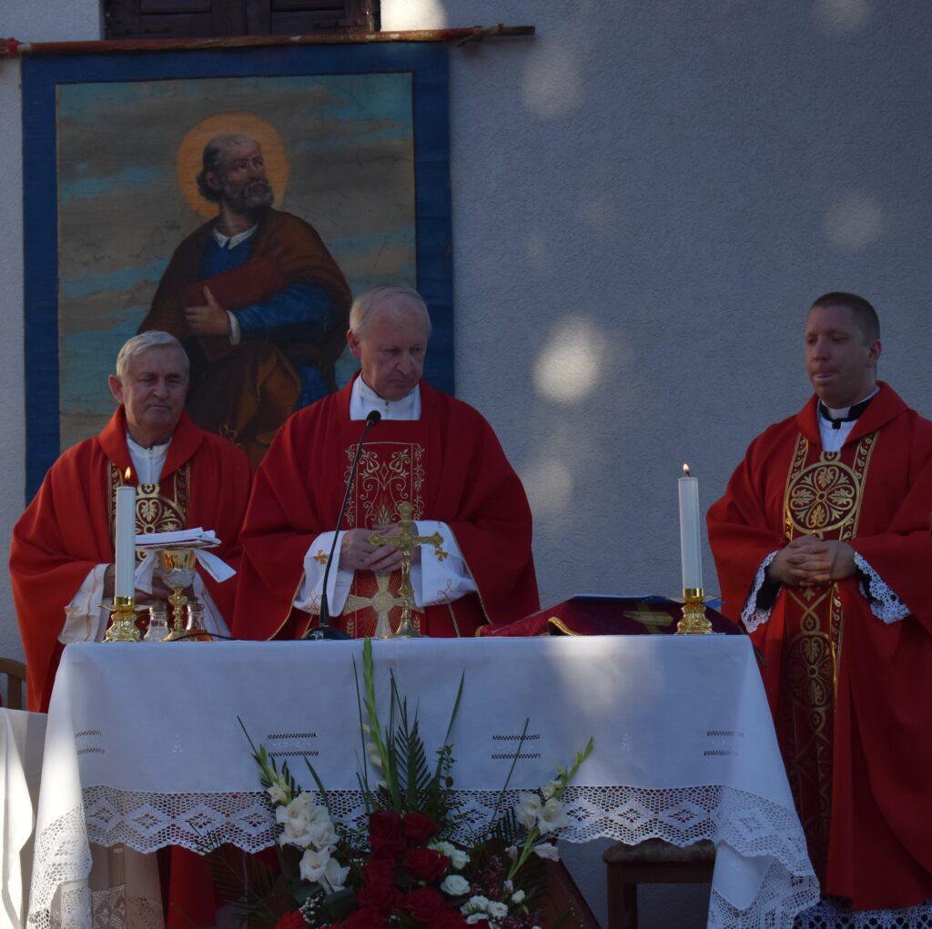 Sv. Petar proslavljen u Bogdašićima