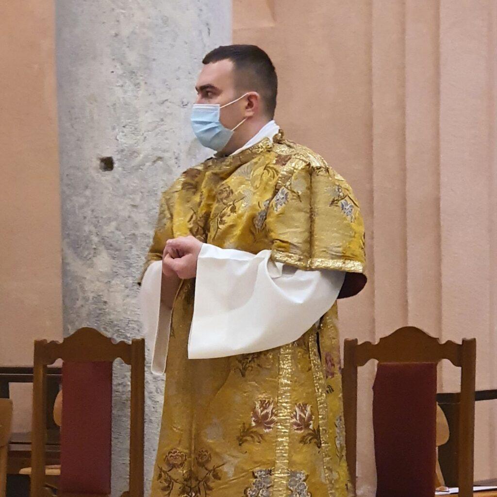 Don Damir Vrbešić zaređen za đakona Kotorske biskupije